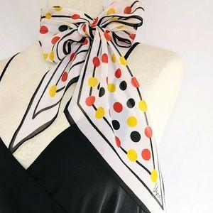 USRA Vintage Silk Head/Neck Scarf